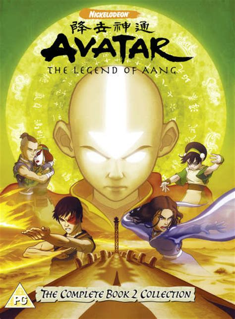 Avatar - The Legend Of Aang - Book 2 - Complete DVD   Zavvi